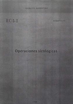 Operaciones sicologicas