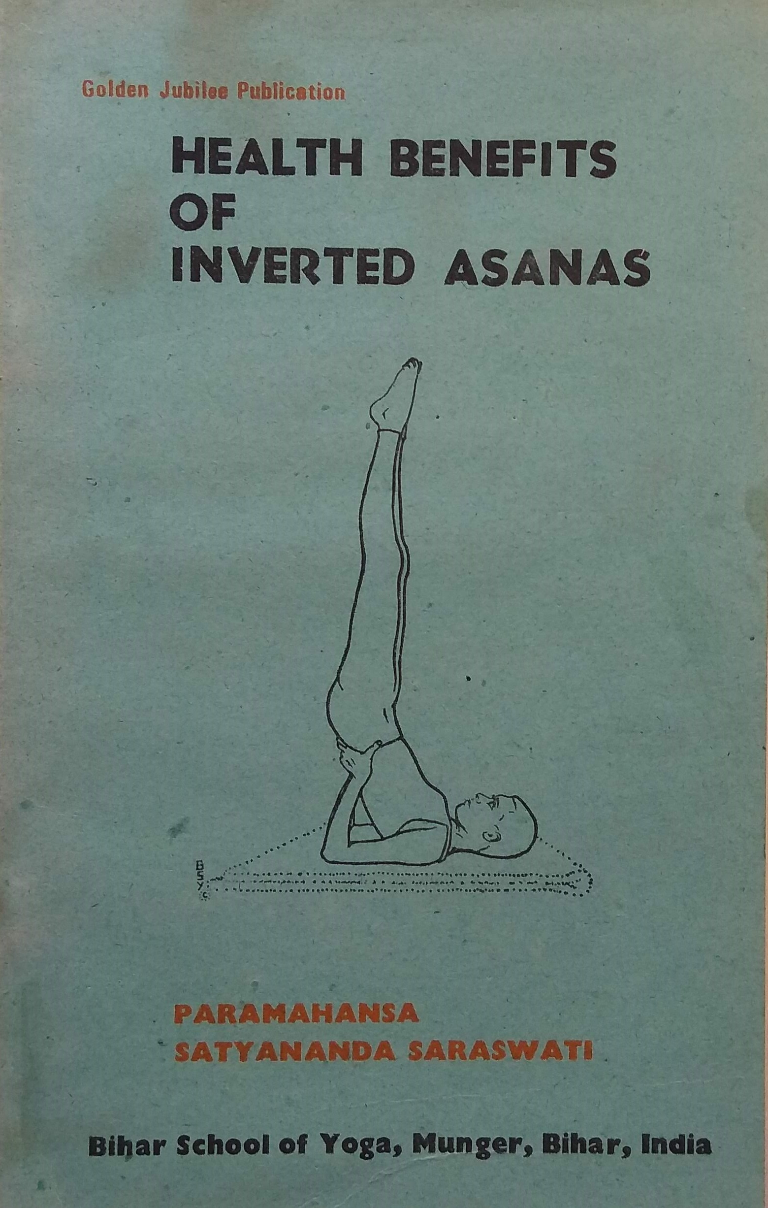 Health benefits of inverted asanas