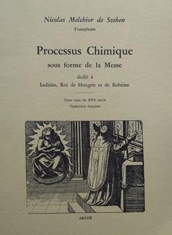 Processus Chimique sous forme de la Mess