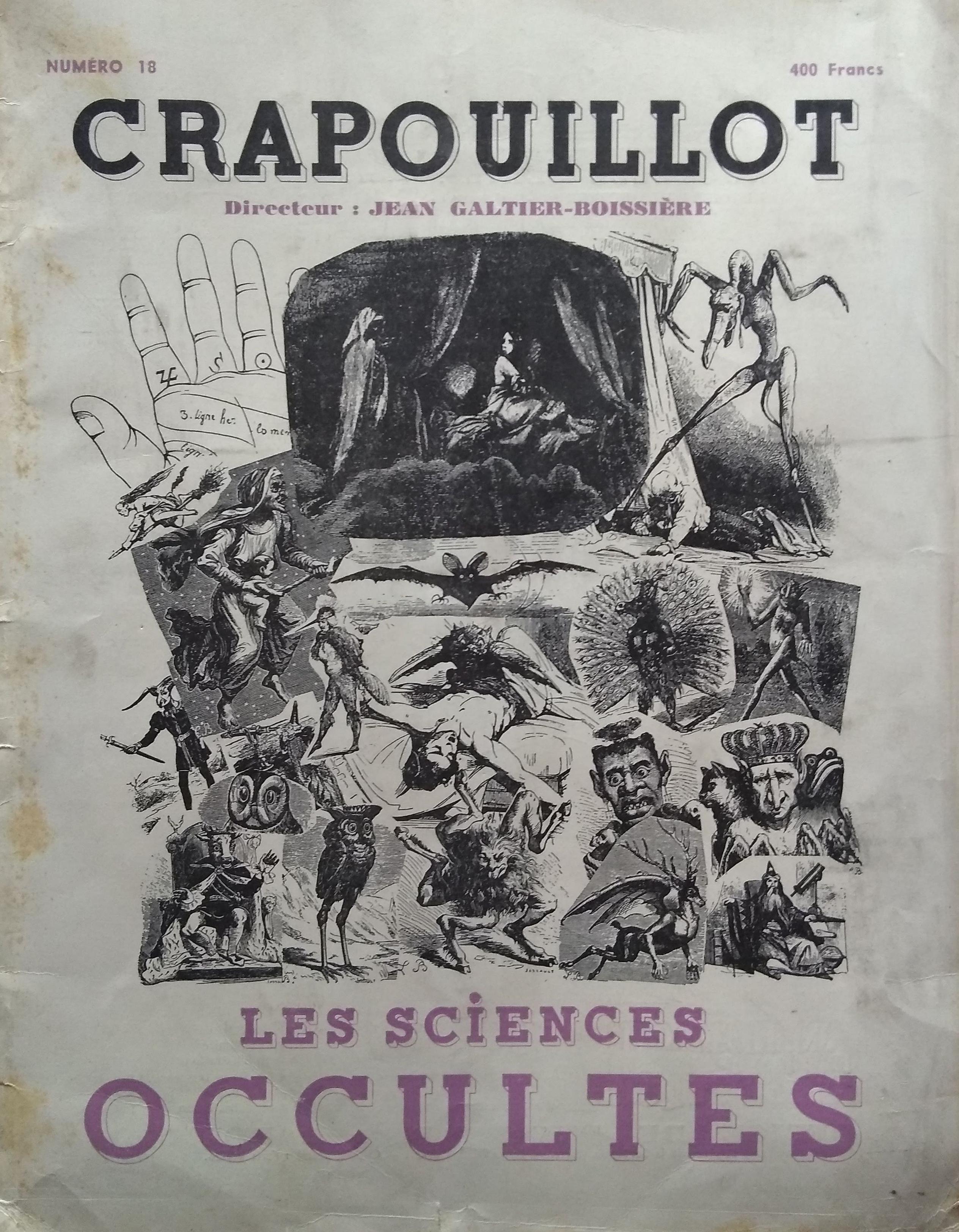 Crapouillot Les Sciences Occultes 18
