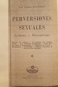 Perversiones Sexuales