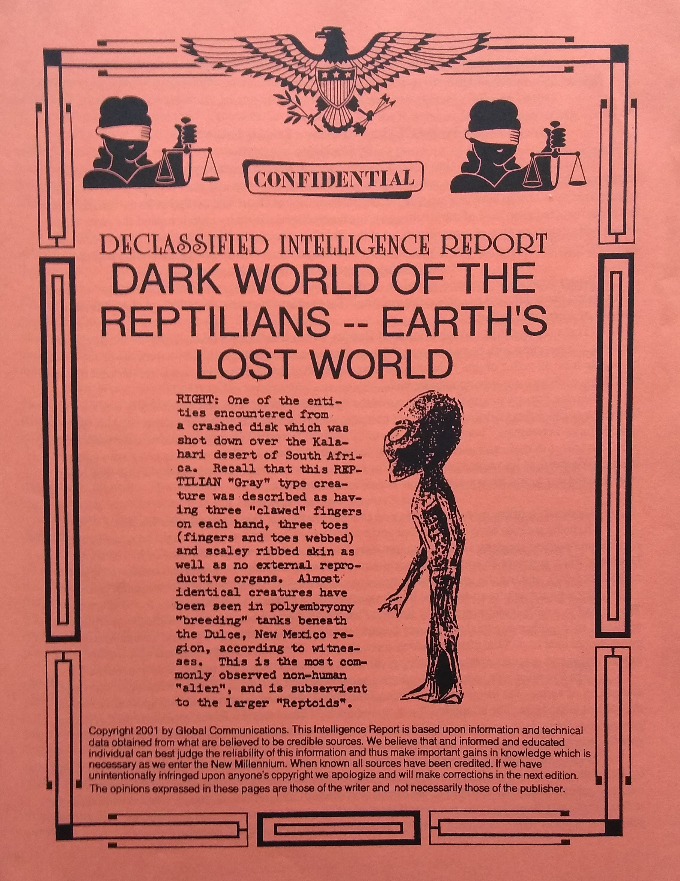 Dark world of the reptilians