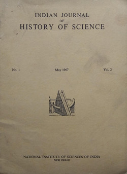 Indian Journal of History of Science