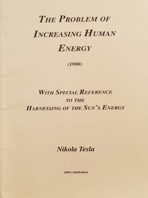 The Problem of Increasin Human Energy