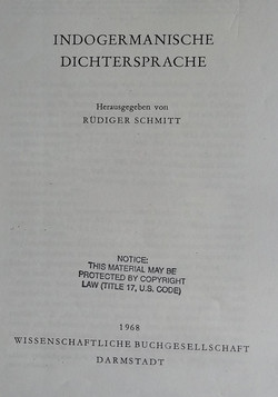 Indogermanische Dichtersprache