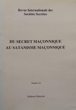 Du Secret Maconnique au Satanisme Maconn