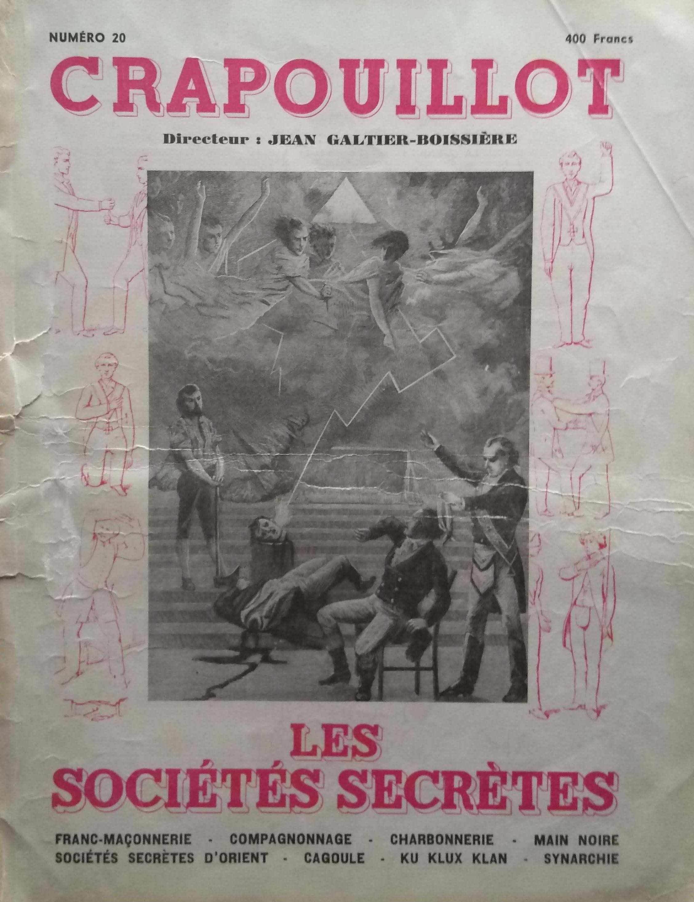 Crapouillot Les Sciences Occultes 20