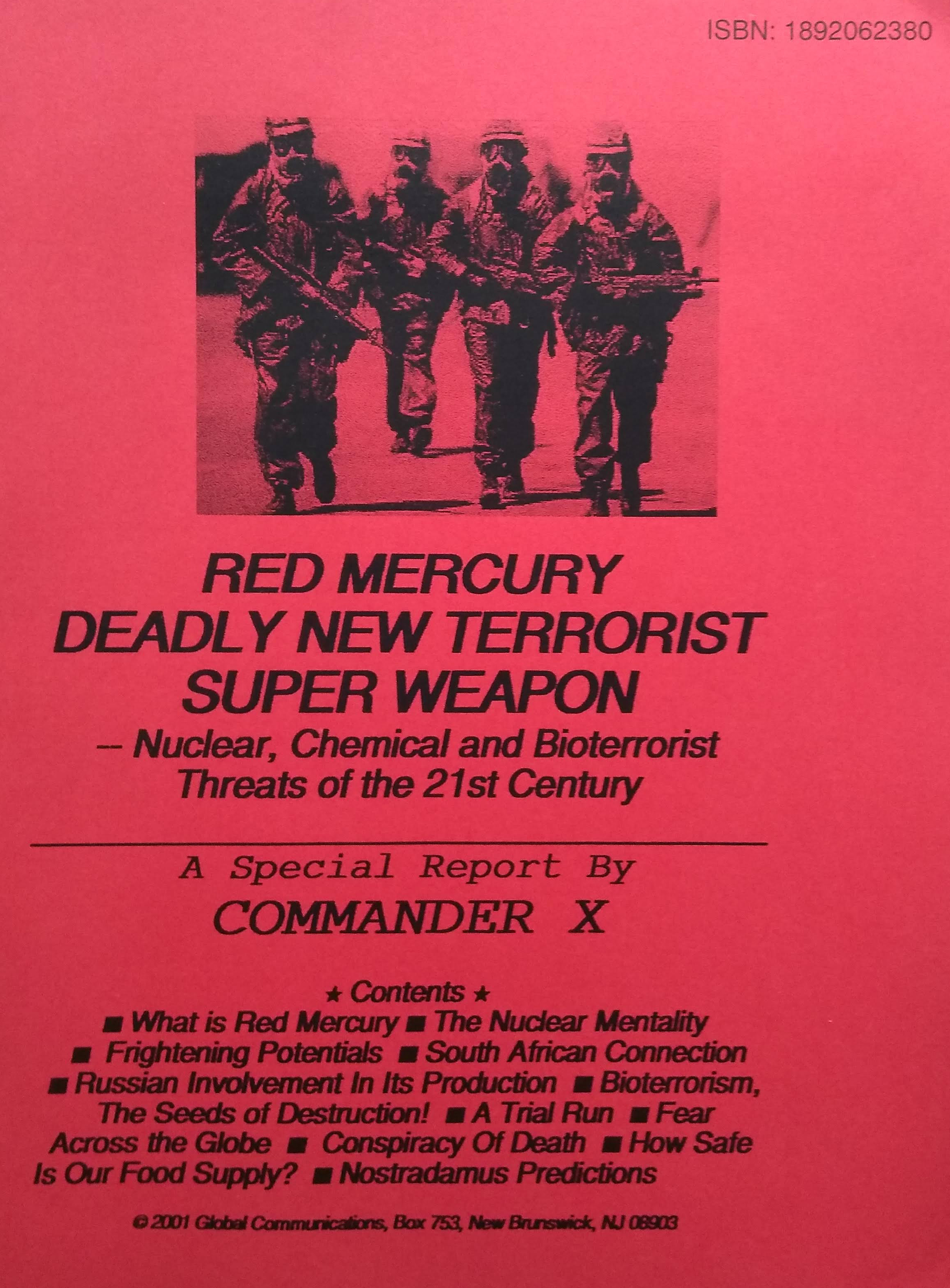 Red mercury deadly new terrorist super w