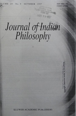Journal of Indian Philosophy