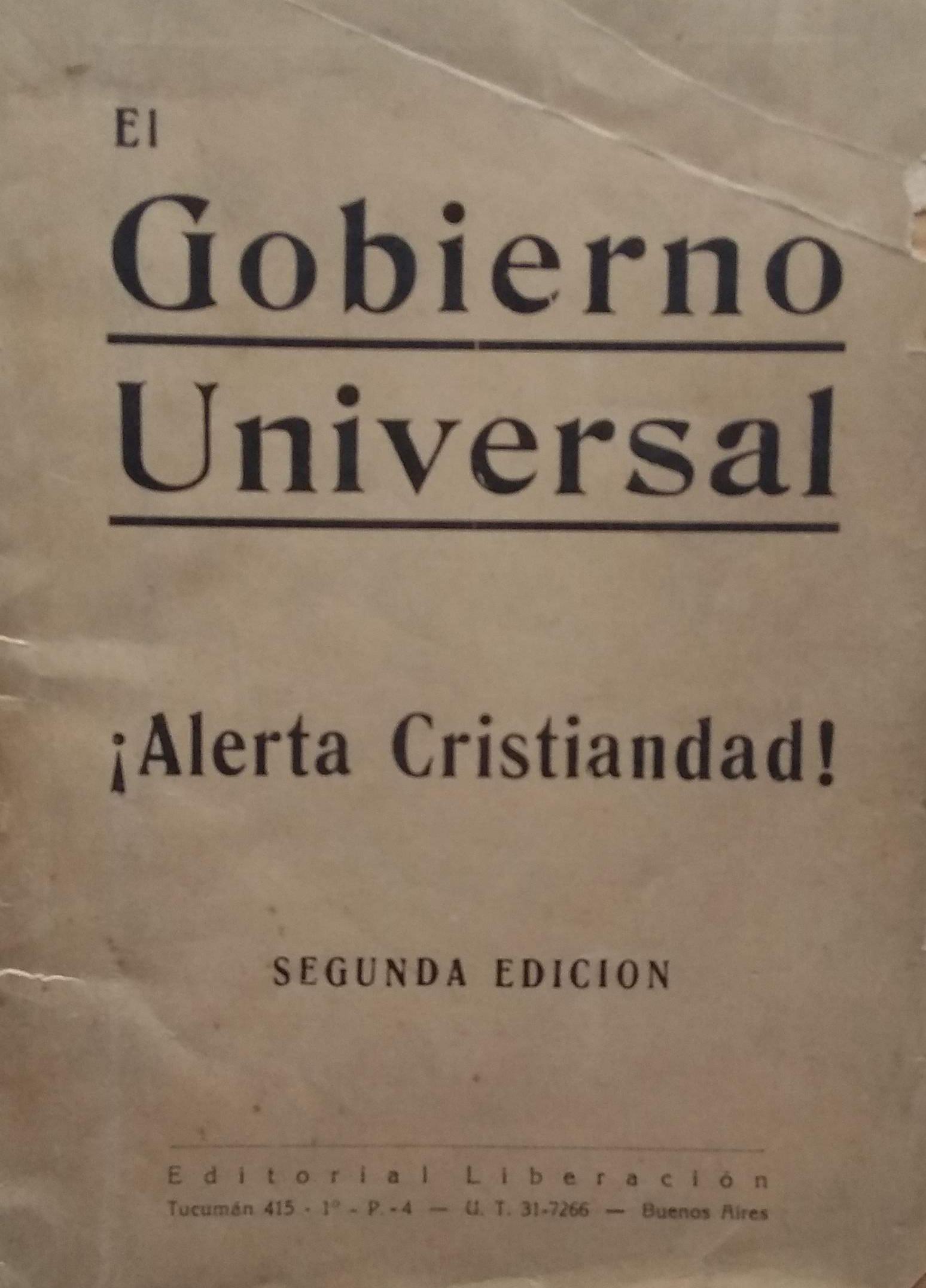 El Gobierno Universal