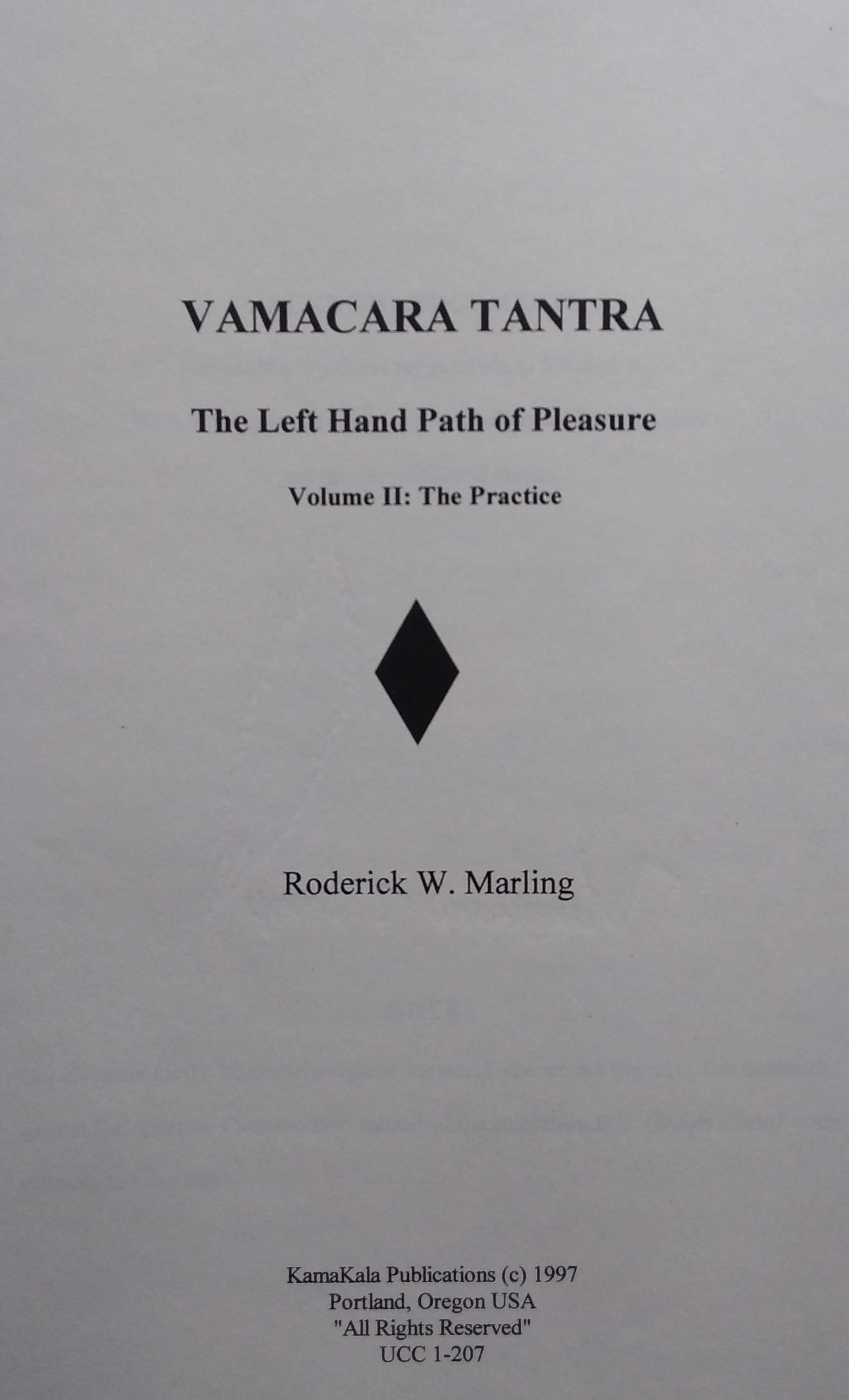 Vamacara Tantra
