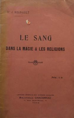 Le Sang dans la magie & les religions