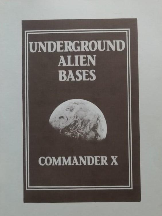 Underground alien bases