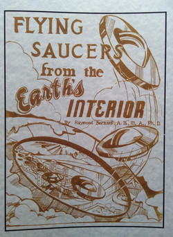 Fliyng saucers from the earths interior.