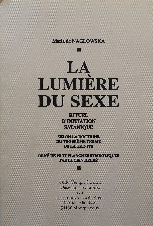La Lumiere du Sexe