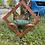 Thumbnail: Sepele and glass birdbath/feeder