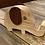 Thumbnail: Basswood and mahogany elephant phone holder