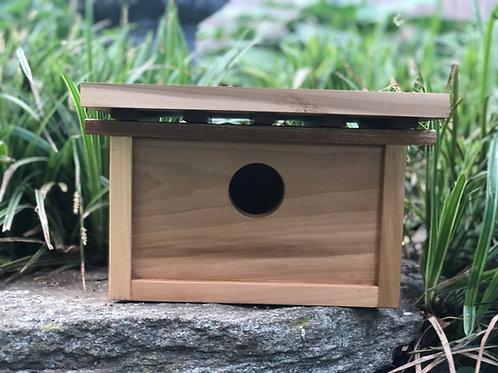 Sepele and Poplar  Bird House