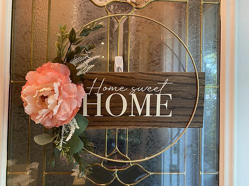 Welcoming door sign