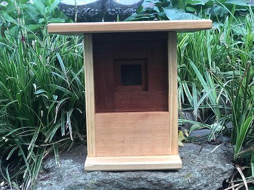 Mahogany, Sycamore Bird House