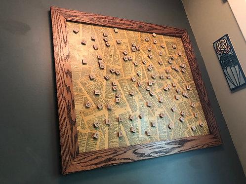 Wall Magnetic Scrabble Board