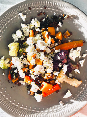 Fast roasted veggies