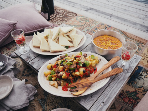 keväinen piknik