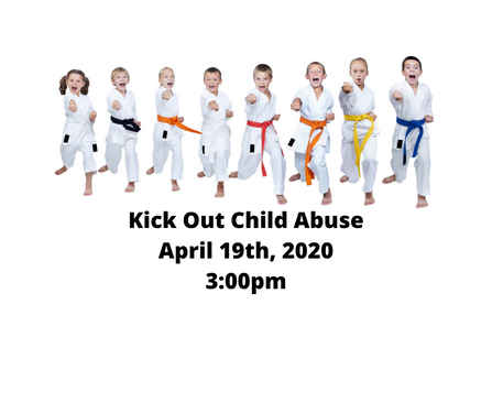 Help Southeast Nebraska CASA Kick Out Child Abuse on April 19th