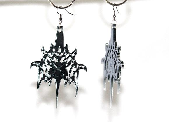 DIX Weapon Perspex Earrings