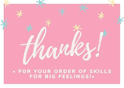 Pink Cute Pattern Teacher Thank You Card