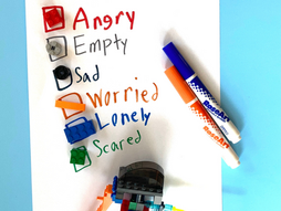 How to Create a Grief Box or Comfort Kit for Kids & a Building Block Grief Intervention