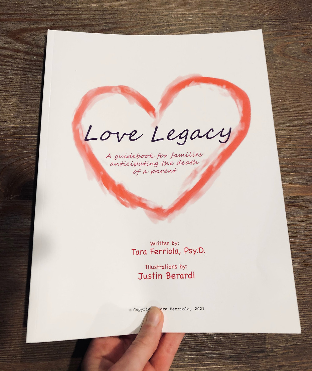 workbook about anticipatory grief with kids