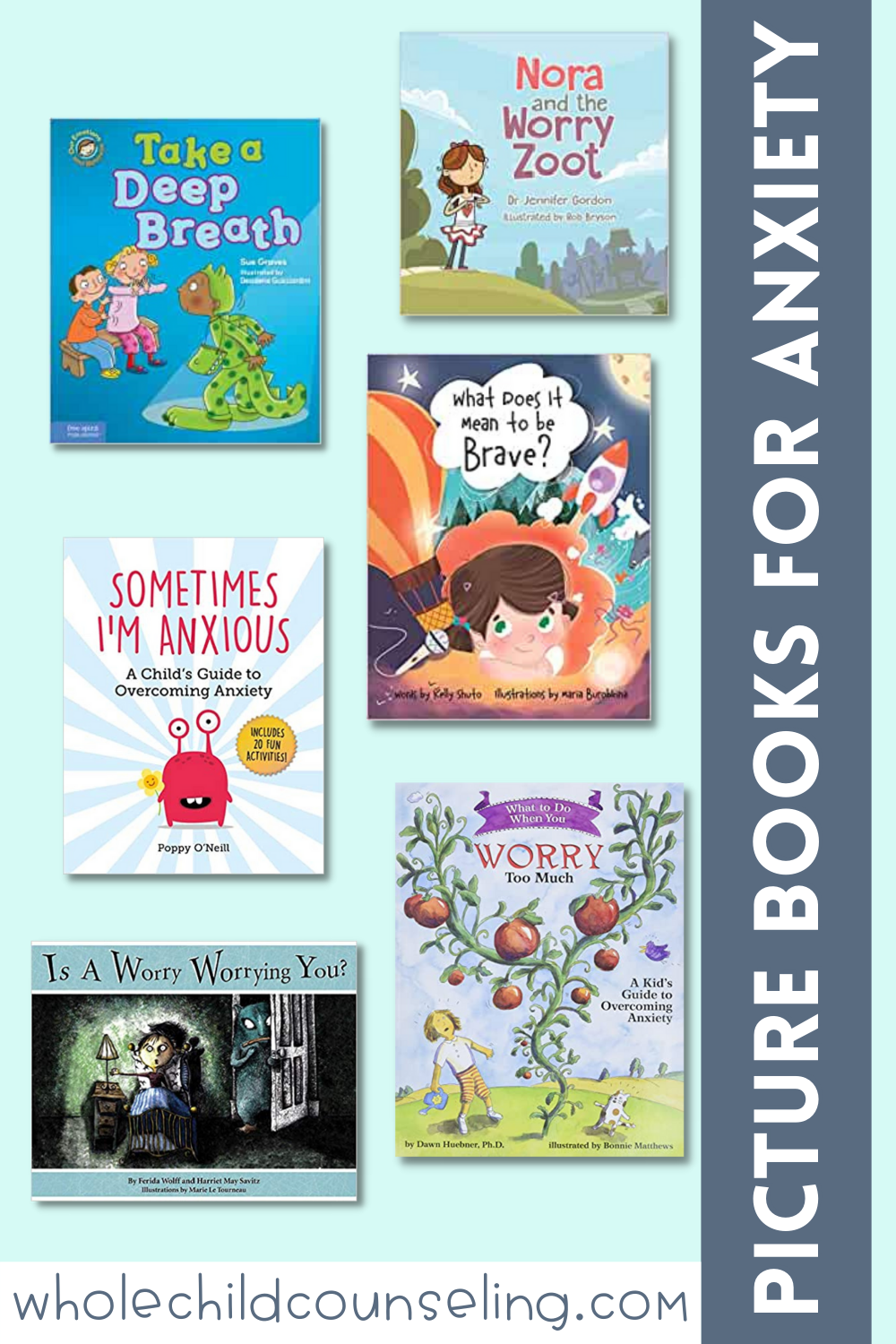 children's picture books about anxiety