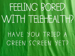 Using a Green Screen: the Creative Therapy Intervention You Don't Want to Miss!