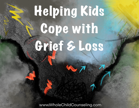 Helping Children & Teens Cope with Grief & Loss