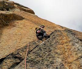 arrampicata sul becco della tribolazione