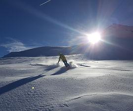 neve da favola sul Monte Rosa
