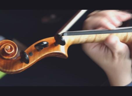 High five for 5 string violin