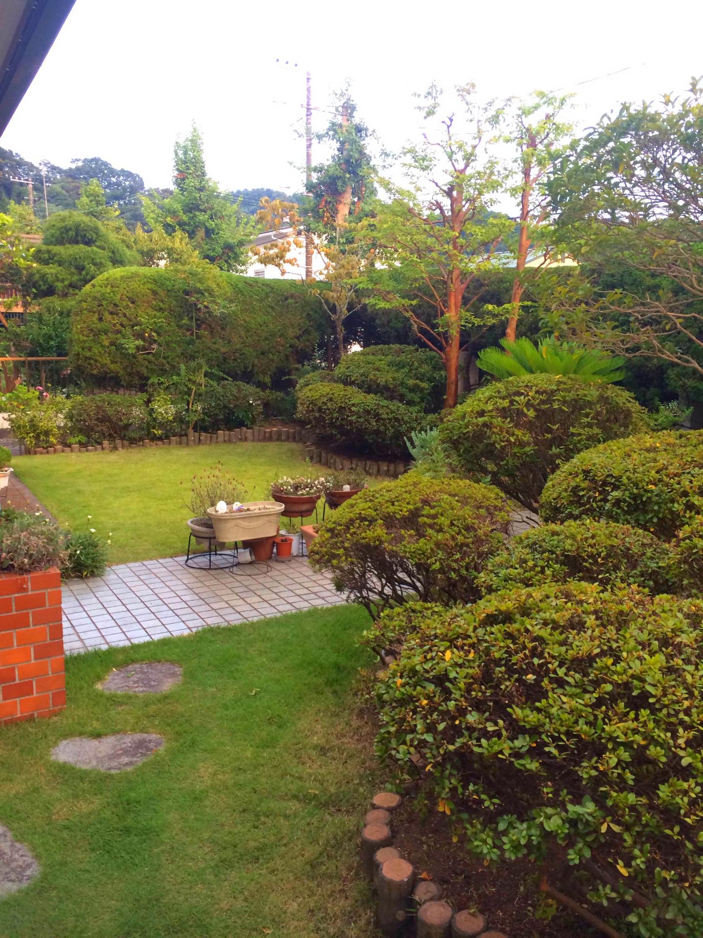 お庭のお手入れ@葉山町