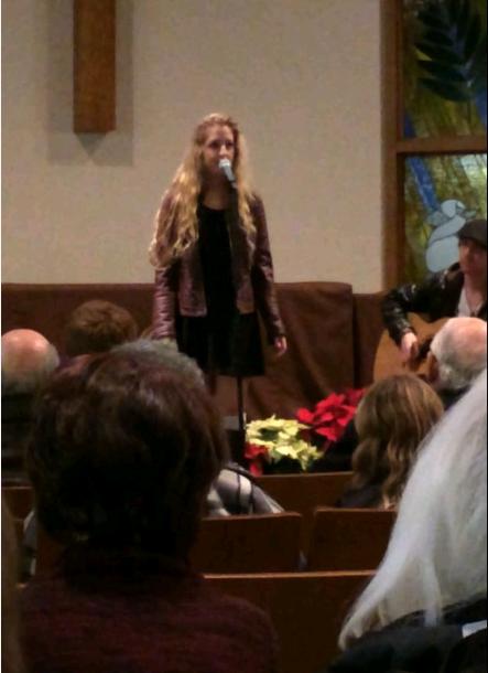 Accompanying Julia At Her Recital