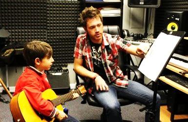 Nick Spagnoletta On Guitar