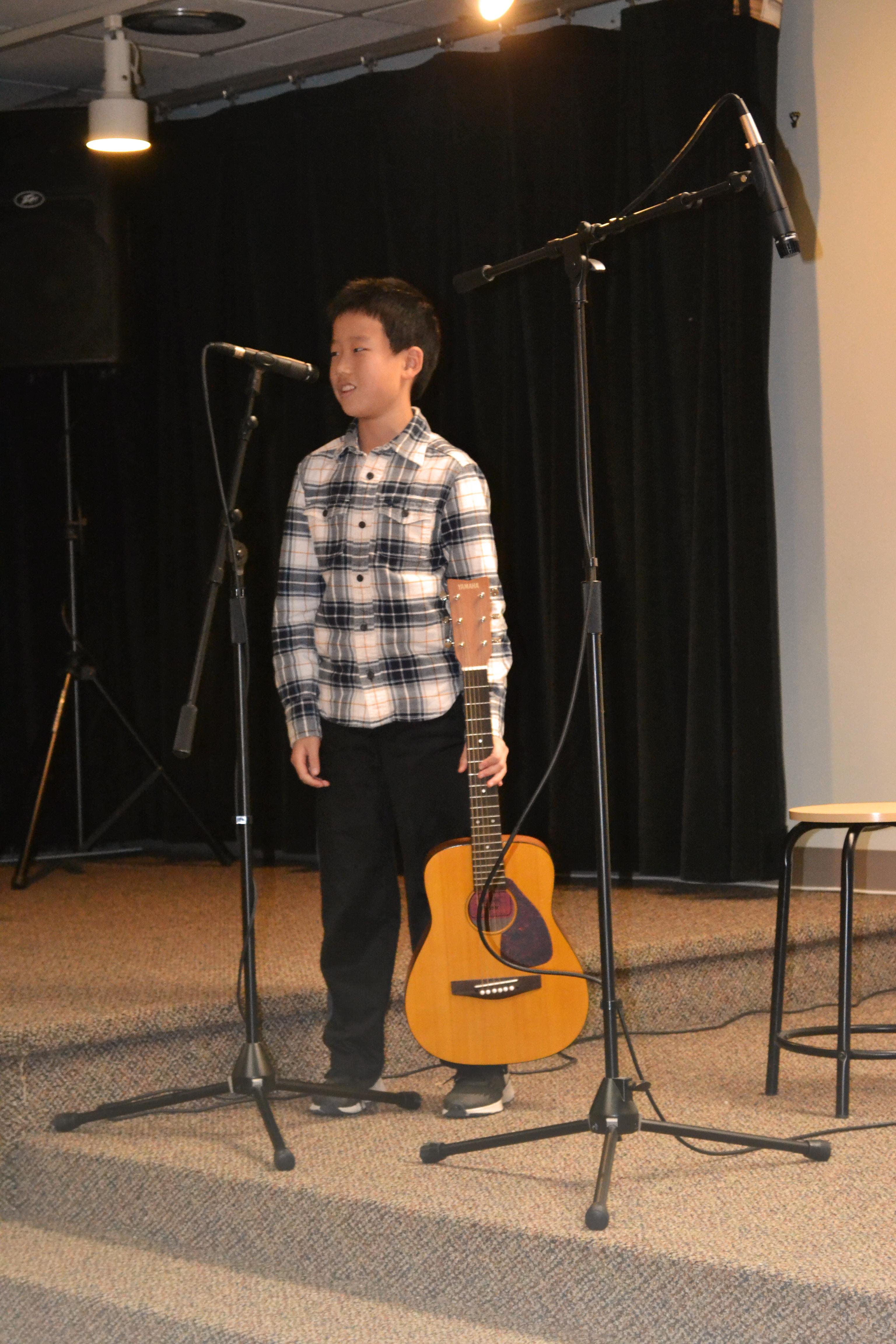 Guitar Recital Introduction