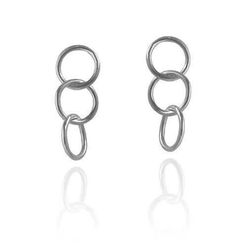 'Triplós Kýklos' Earrings