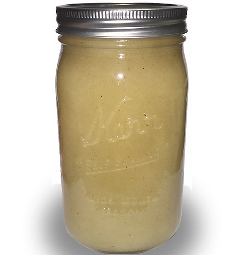 Case of Raw Honey 4lb Mason Jar
