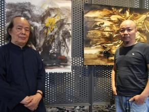 【報導】《中國當代抽象山水畫的精神美學》塵三與周宸發表雙人展 - 非池中