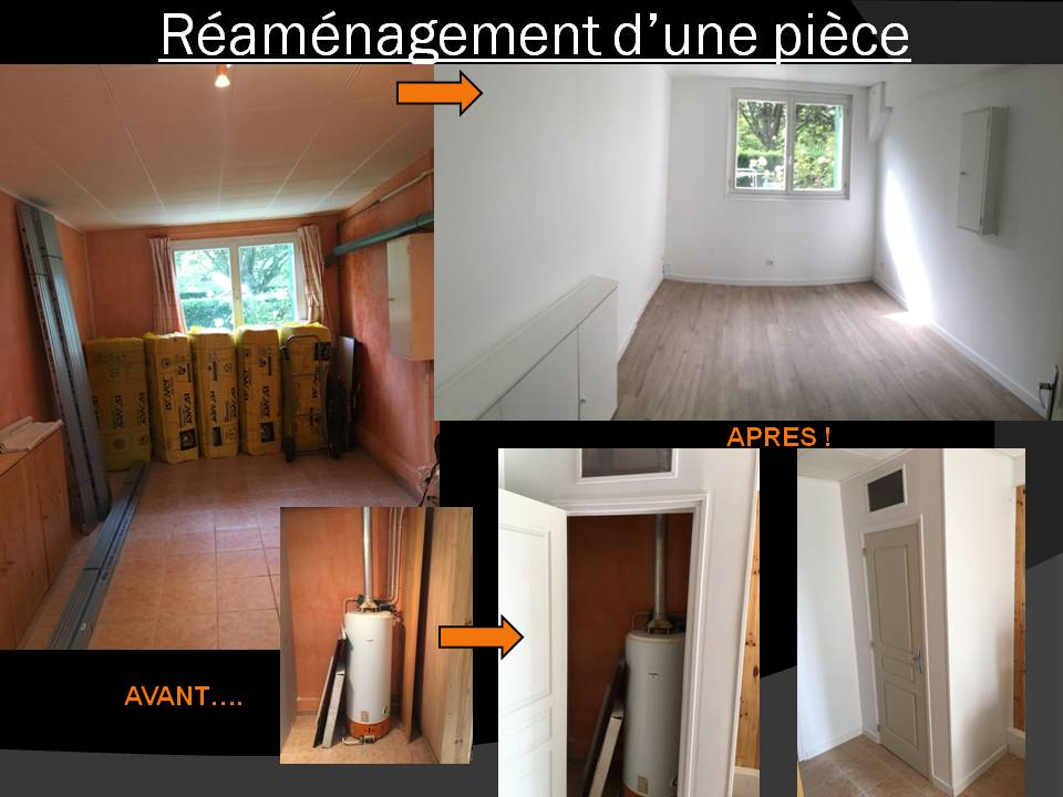 Réaménagement d'un garage