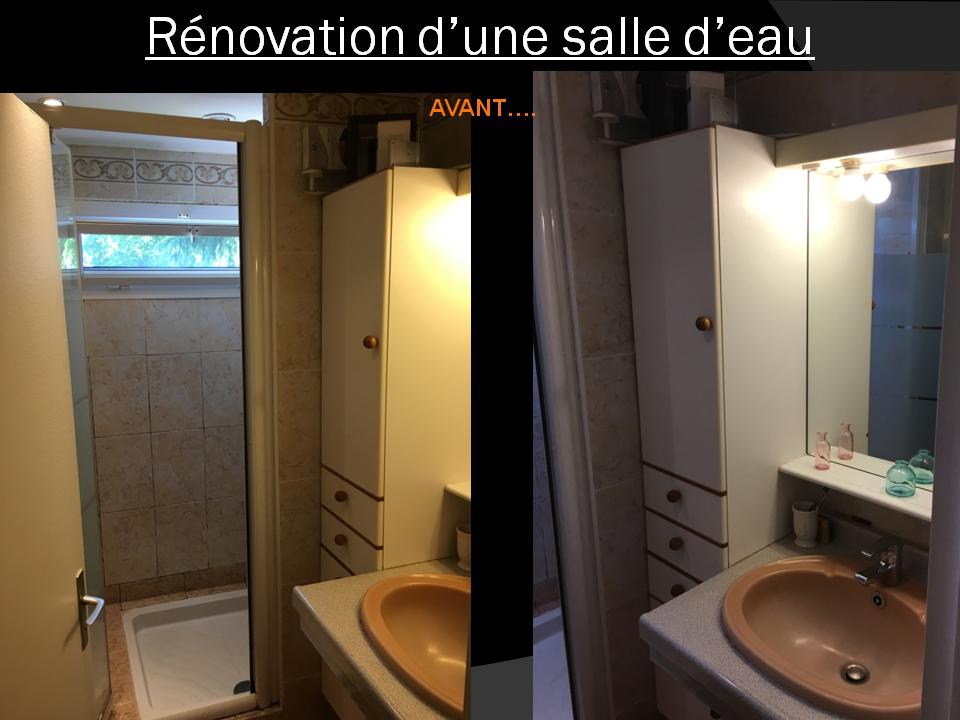 Rénovation salle d'eau à Plaisir