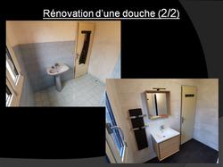 renovation douche beynes 1/2