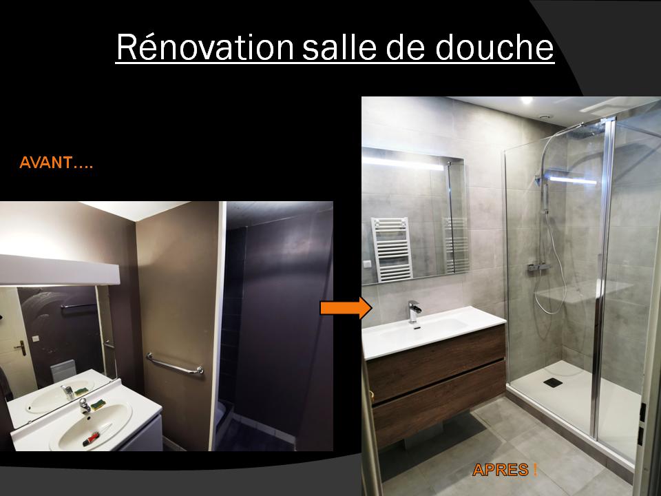 Renovation salle de douche Maurepas