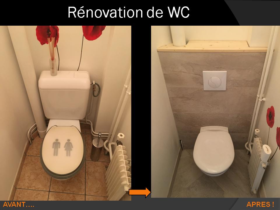 Rénovation WC à Plaisir